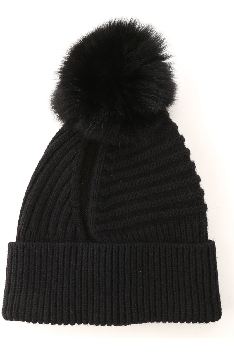 Woolrich Hat for Women Black SE - GOOFASH