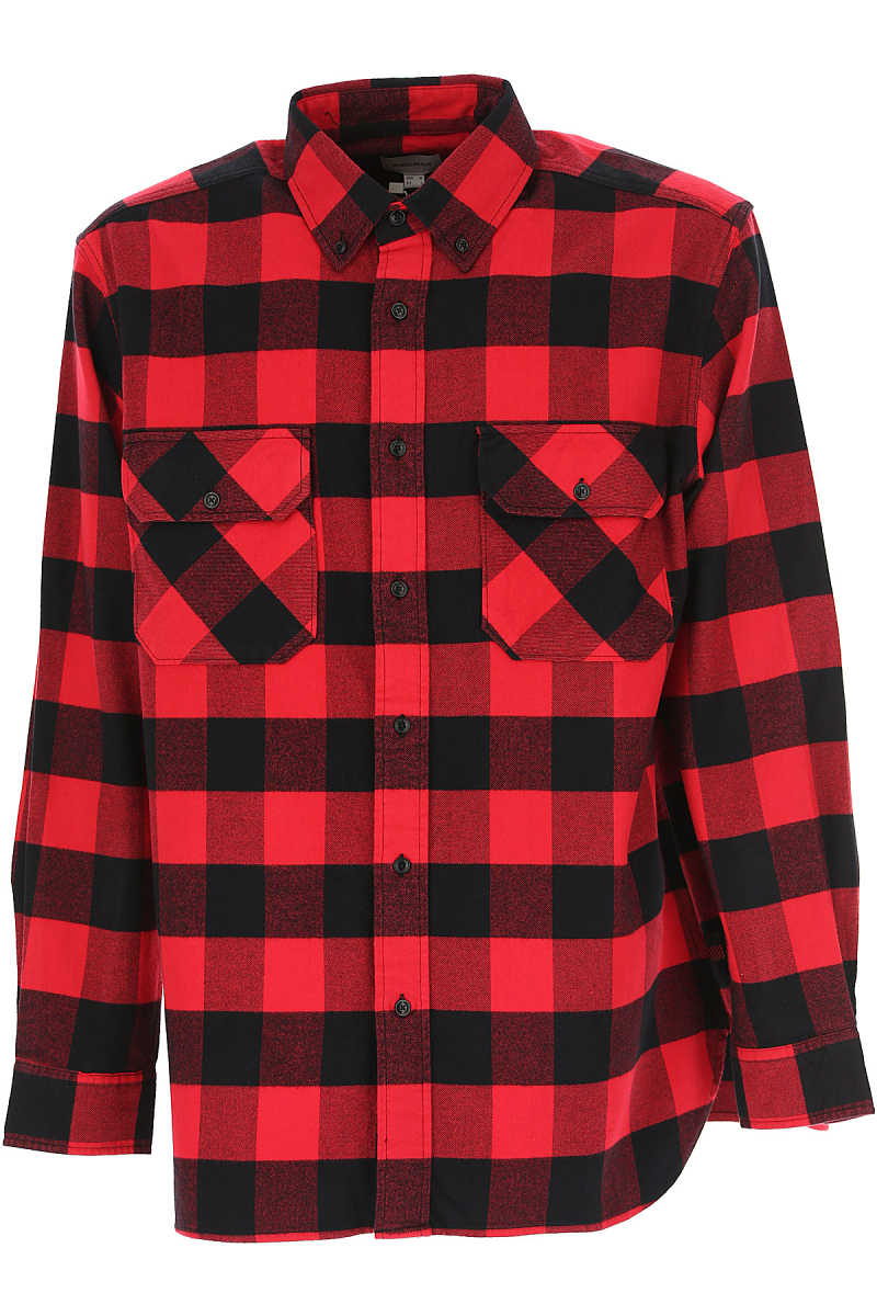 Woolrich Mens Clothing Red SE - GOOFASH