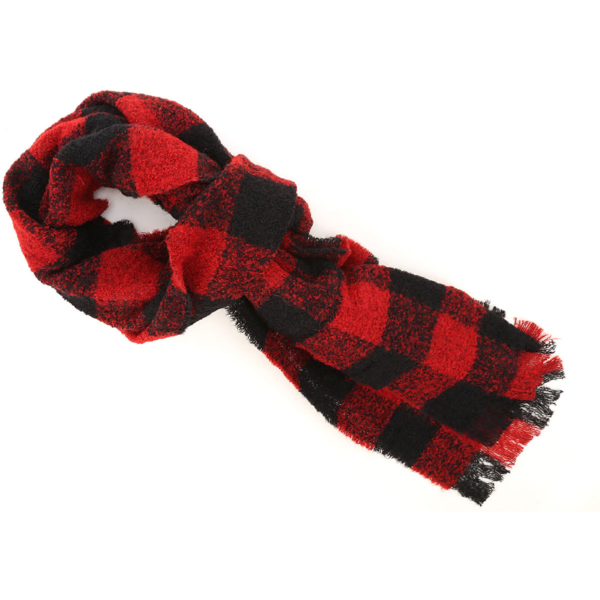 Woolrich Scarf for Women Black SE - GOOFASH