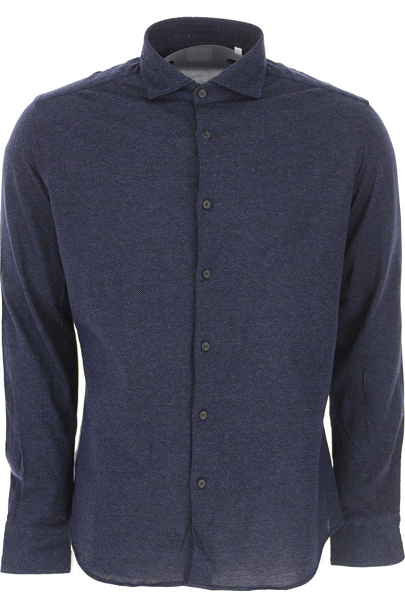 Xacus Shirt for Men On Sale Dark Blue SE - GOOFASH