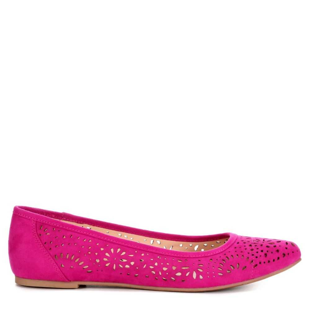 Xappeal Womens Adilene Flats Shoes Fuschia USA - GOOFASH
