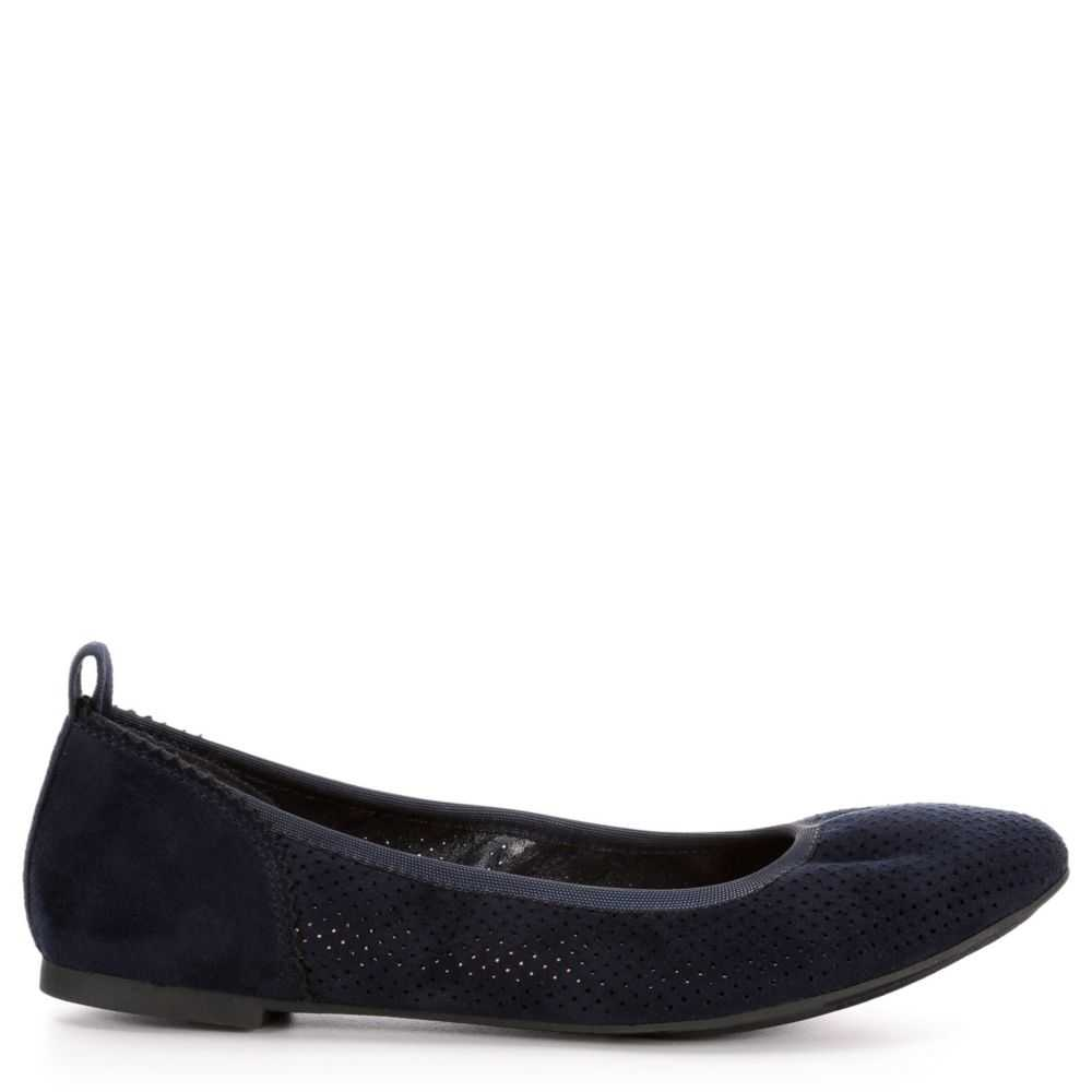 Xappeal Womens Clair Flats Shoes Navy USA - GOOFASH