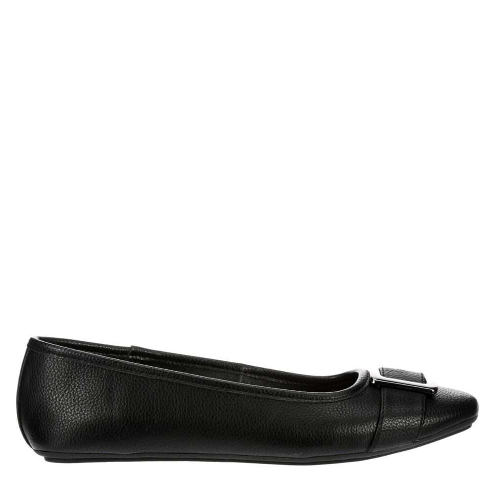 Xappeal Womens Lily Flats Shoes Black USA - GOOFASH