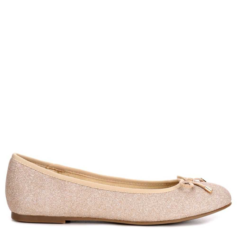 Xappeal Womens Tine Flats Shoes Gold USA - GOOFASH