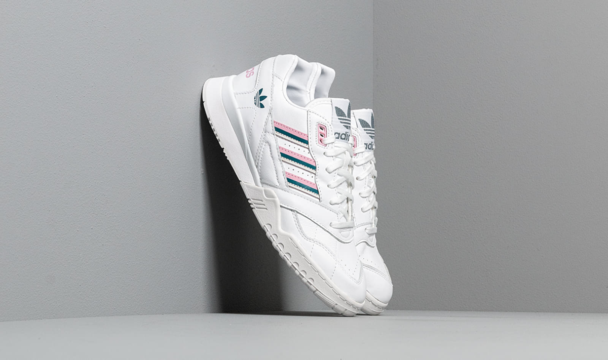 adidas A.R. Trainer W Ftw White/ True Pink/ Tech Mint UK - GOOFASH