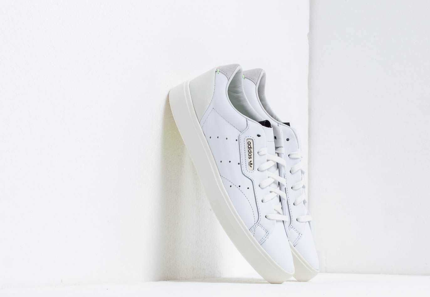 adidas Sleek W Ftw White/ Off White/ Crystal White UK - GOOFASH