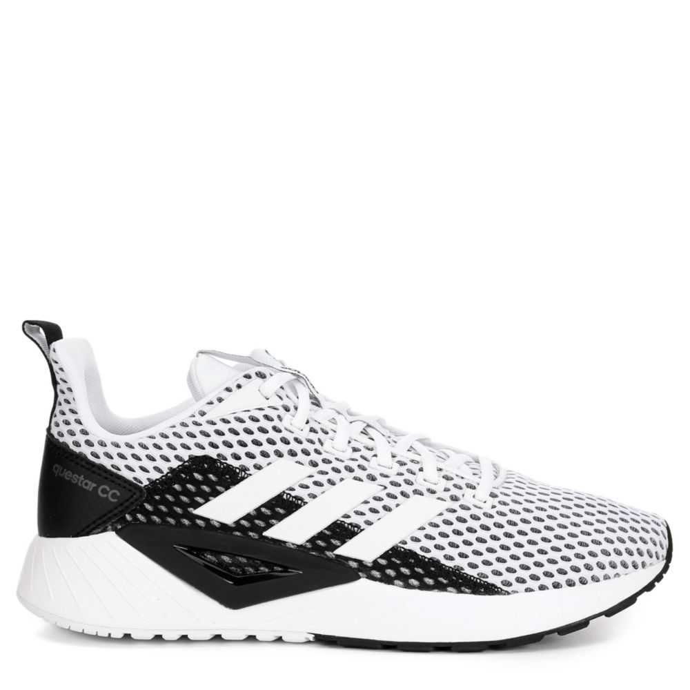 Adidas Mens Questar Clima Running Shoes Sneakers White USA - GOOFASH - Mens SNEAKER