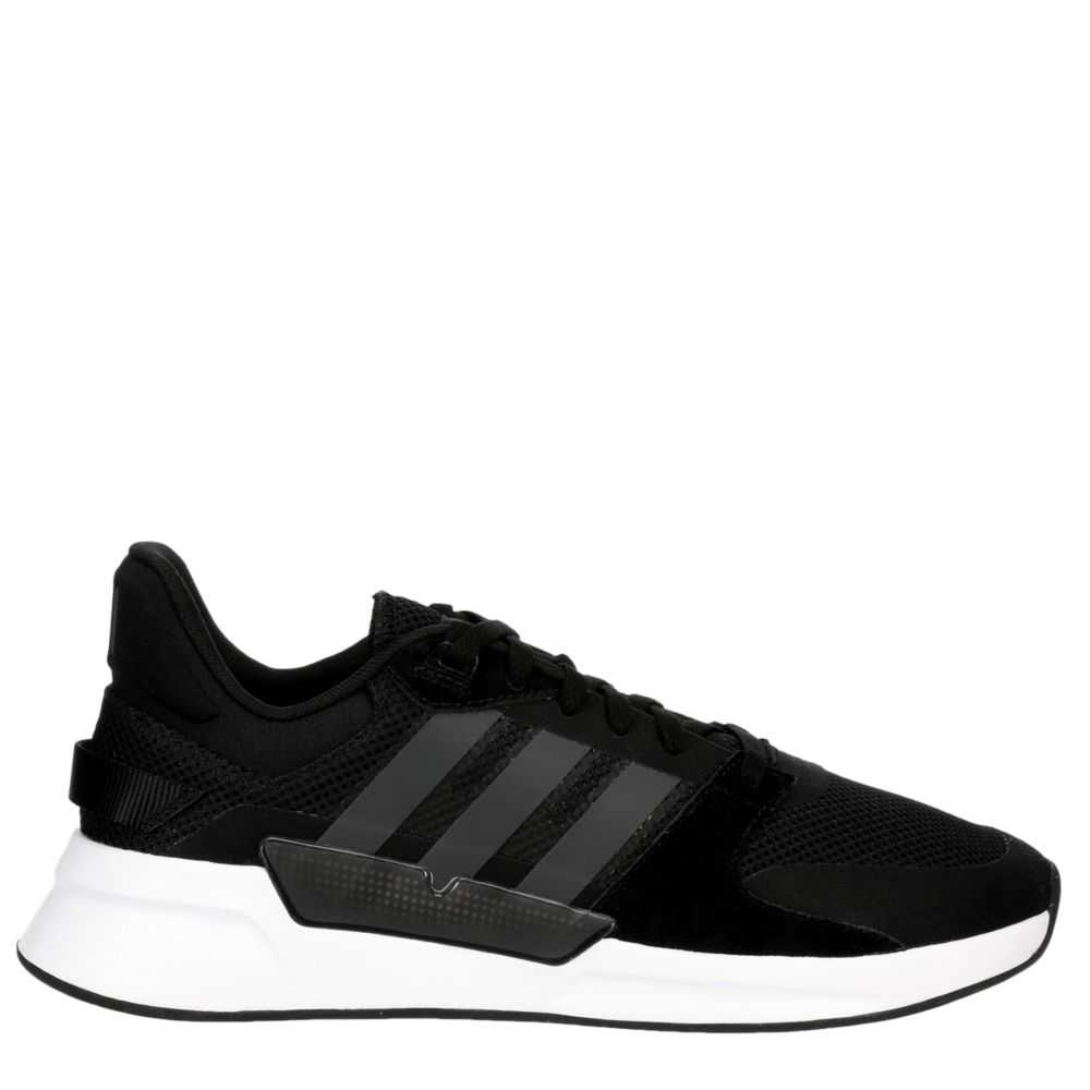 Adidas Mens Running 90S Shoes Sneakers Black USA - GOOFASH - Mens SNEAKER