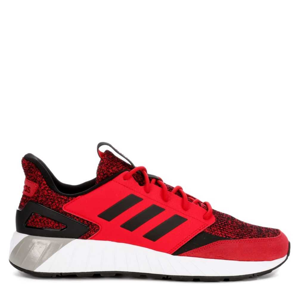 Adidas Mens Strike Running Shoes Sneakers Red USA - GOOFASH - Mens SNEAKER