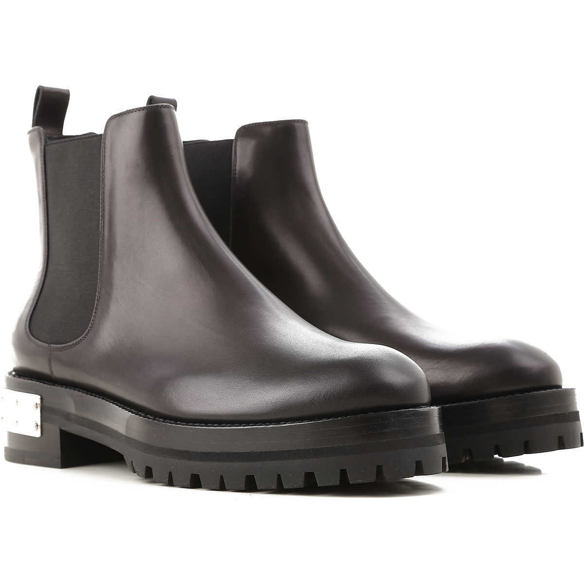 Alexander McQueen Chelsea Boots for Women On Sale in Outlet Black - GOOFASH
