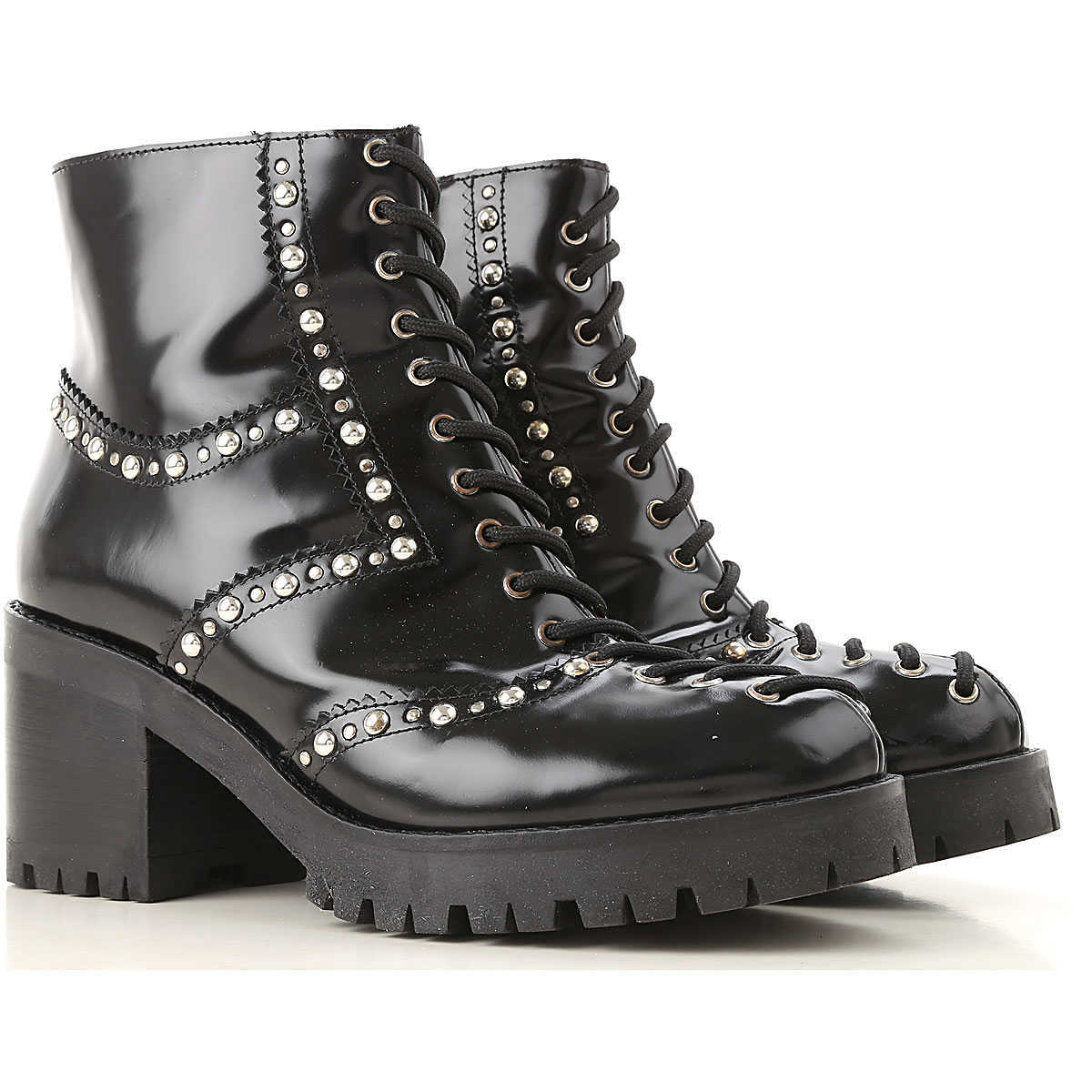 Alexander McQueen McQ Boots for Women Booties On Sale in Outlet - GOOFASH