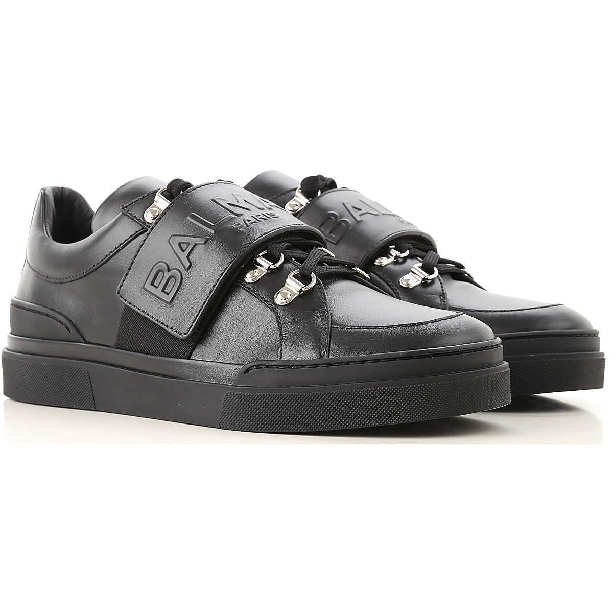 Balmain Sneakers for Men On Sale in Outlet Black - GOOFASH