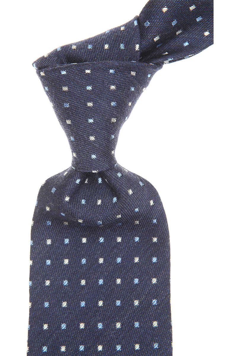 Barba Napoli Ties On Sale Midnight Blue Melange - GOOFASH