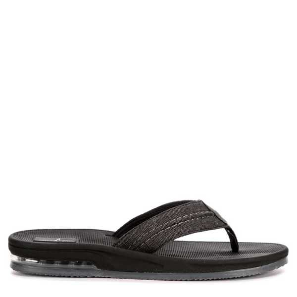 Bluefin Mens Key West Flip Flop Sandal Grey USA - GOOFASH - Mens SANDALS