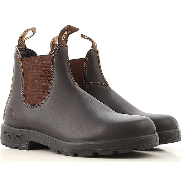 Blundstone Chelsea Boots for Men Stout Brown - GOOFASH