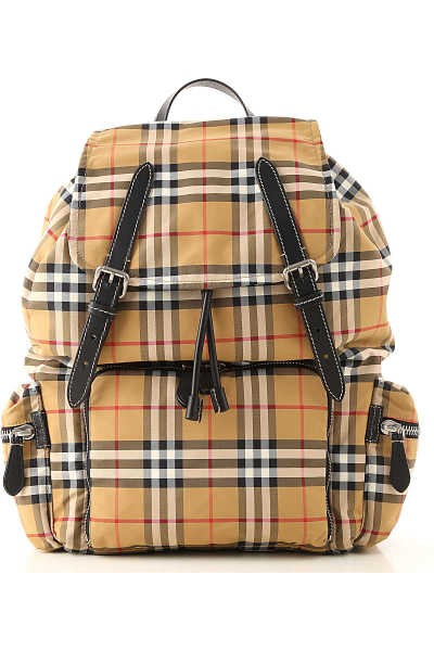 Burberry Backpack for Men Antique Yellow - GOOFASH