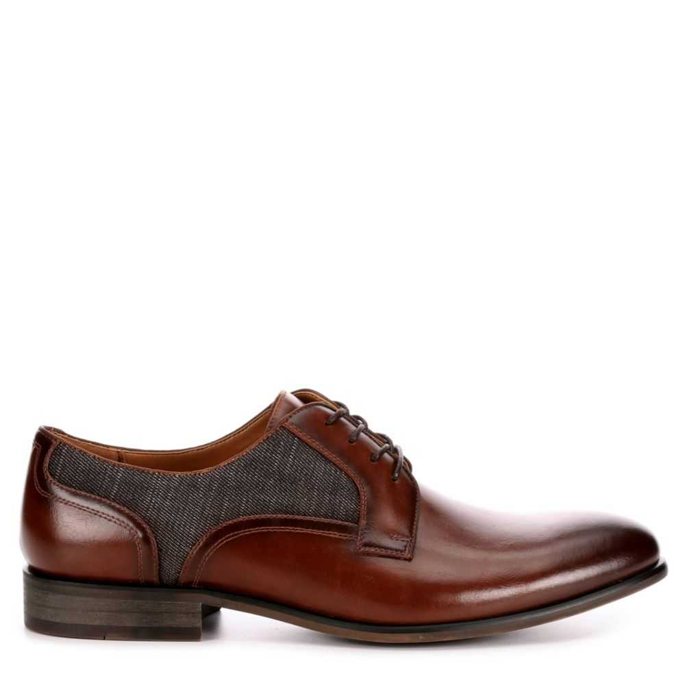 Call It Spring Mens Freacia Dress Casual Oxfords Cognac USA - GOOFASH - Mens LEATHERS SHOES