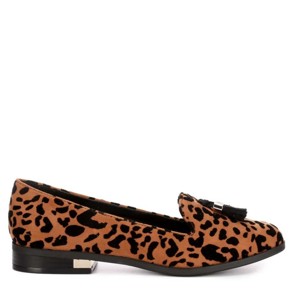 Call It Spring Womens Kilania Loafers Brown USA - GOOFASH - Womens FLAT SHOES