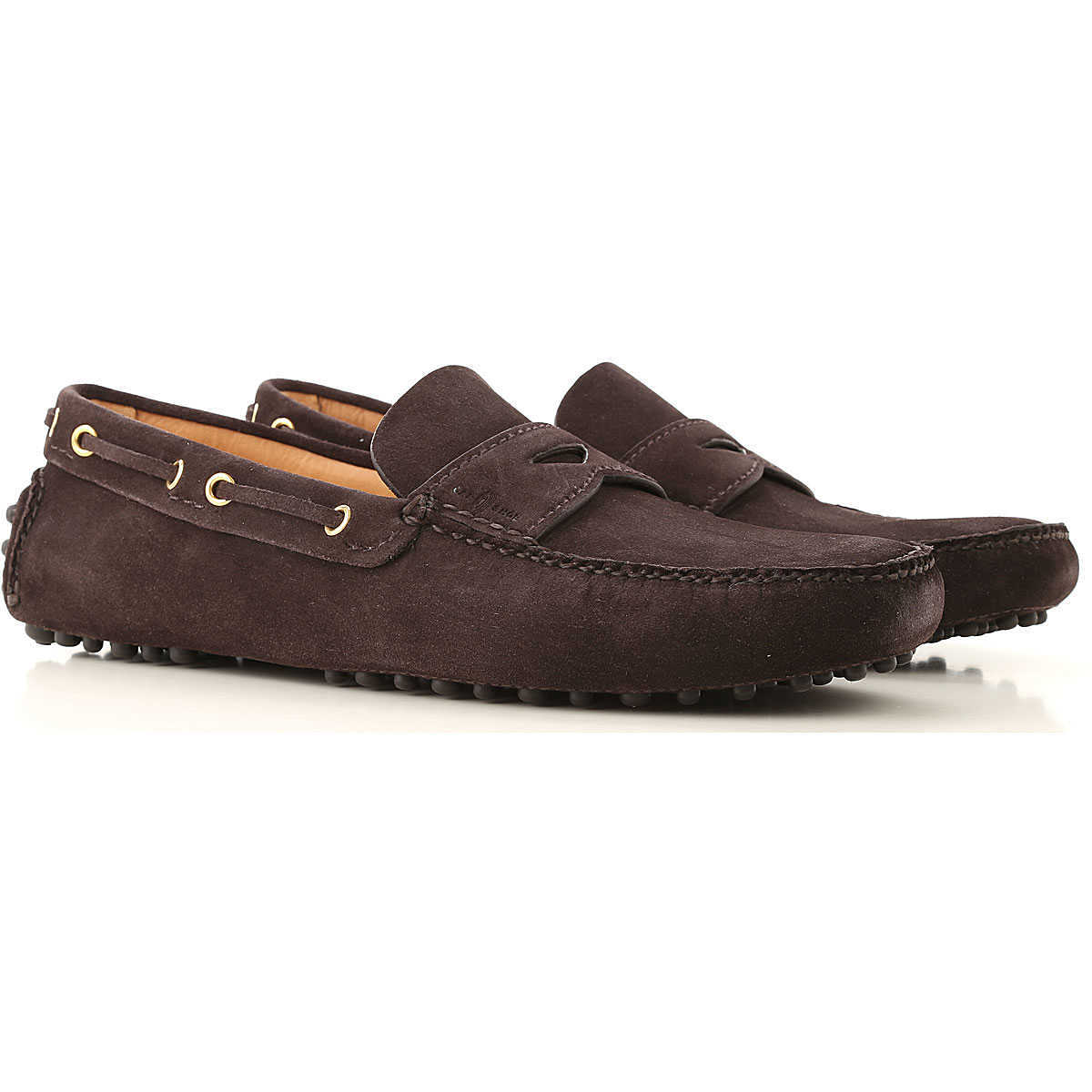 Car Shoe Loafers for Men On Sale Brown - GOOFASH