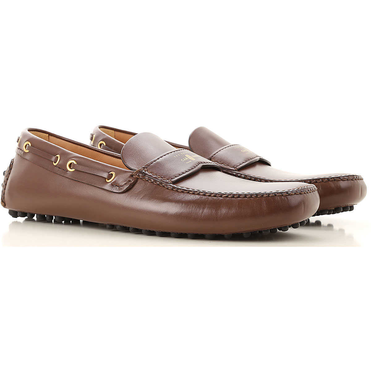 Car Shoe Loafers for Men On Sale in Outlet Brown - GOOFASH