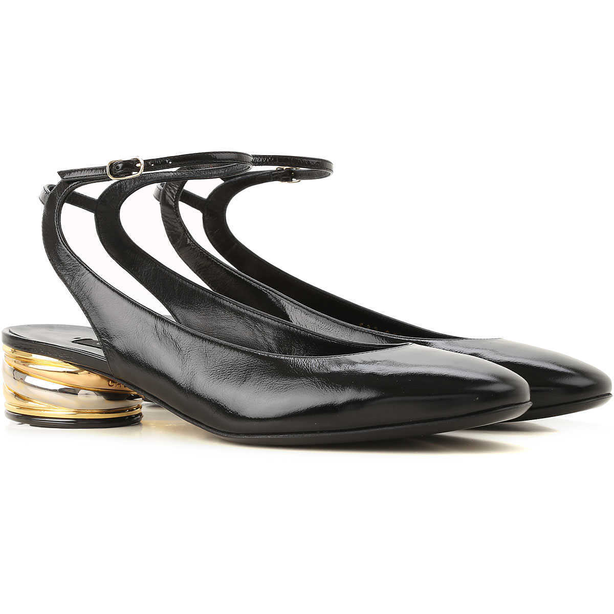 Casadei Ballet Flats Ballerina Shoes for Women On Sale Black - GOOFASH