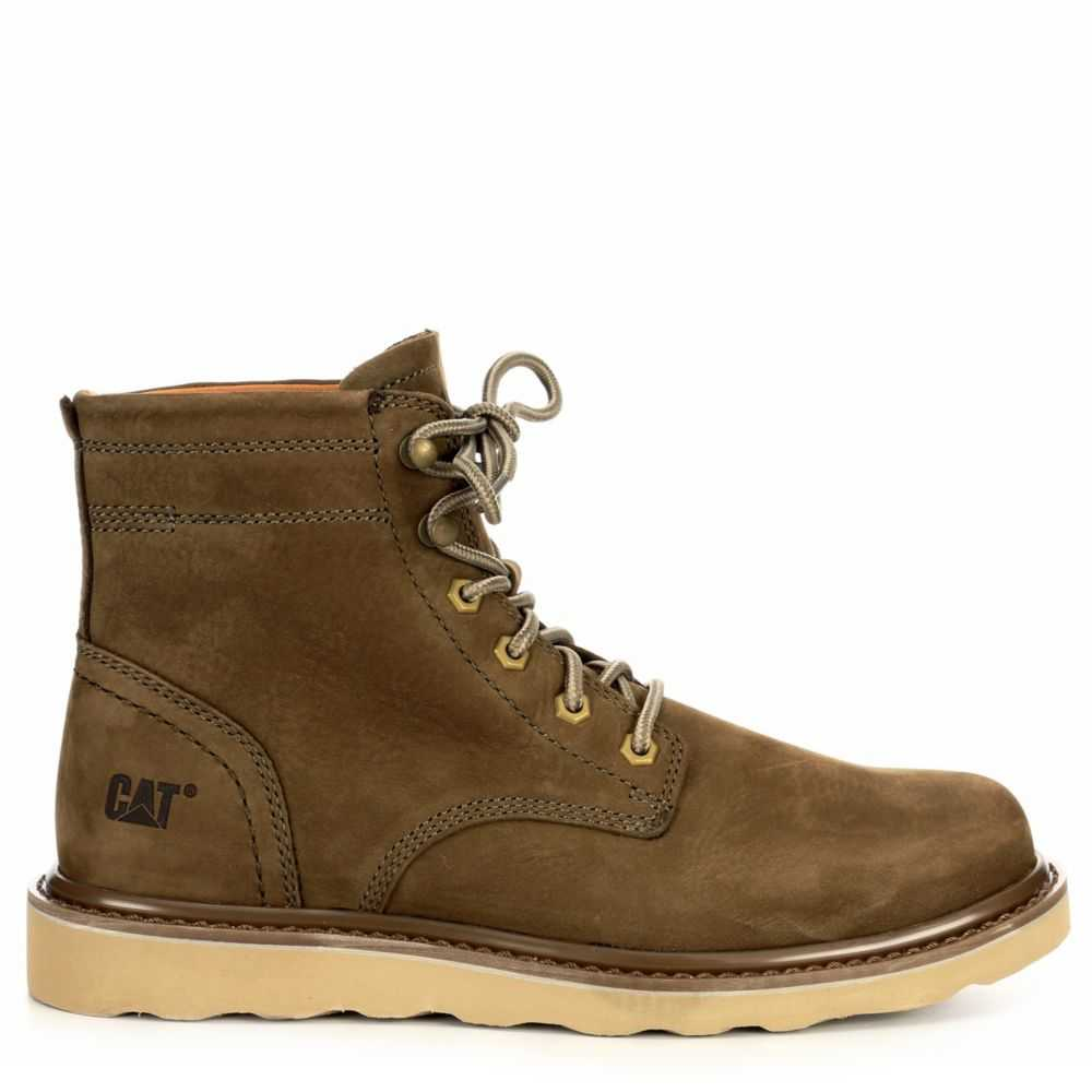Caterpillar Mens Chronicle Boot Olive USA - GOOFASH - Mens BOOTS