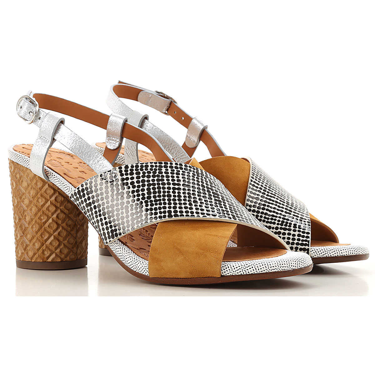 Chie Mihara Sandals for Women On Sale Cognac - GOOFASH