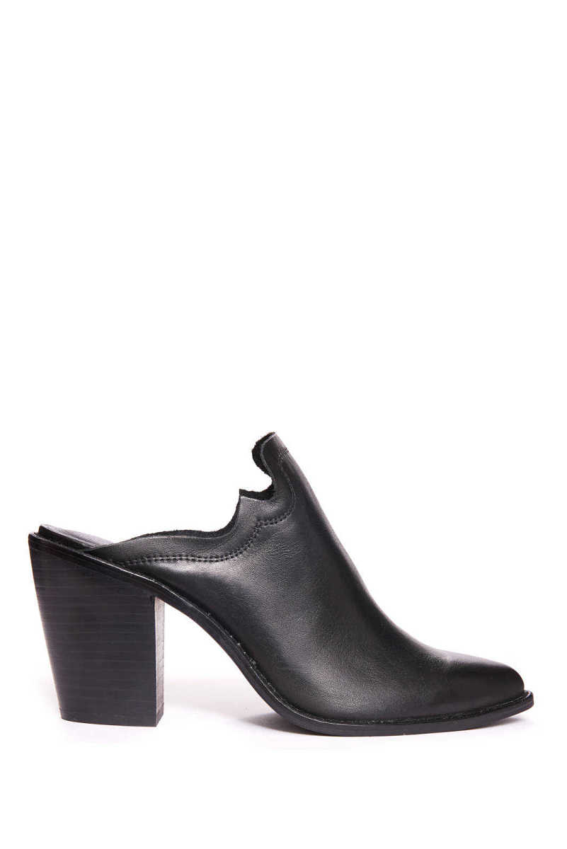 Chinese Laundry Songstress Mule Black 8.5 USA - GOOFASH