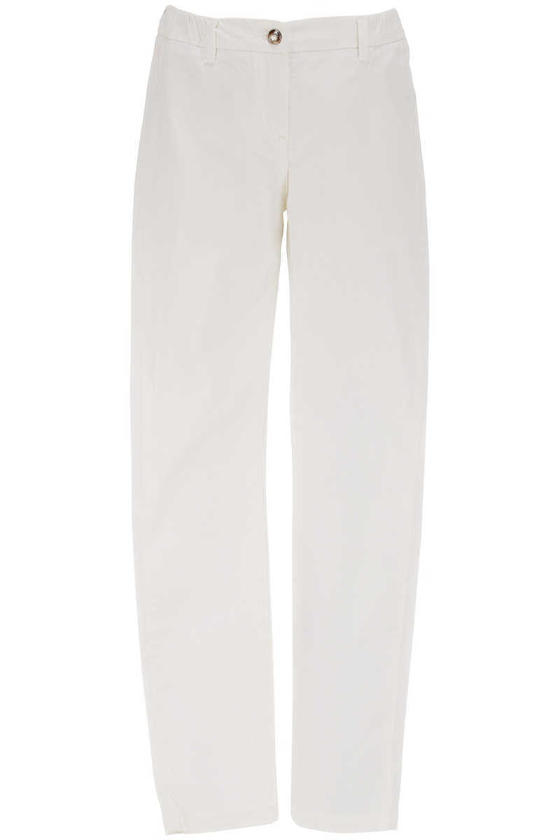 Chloe Kids Pants for Girls in Outlet White USA - GOOFASH