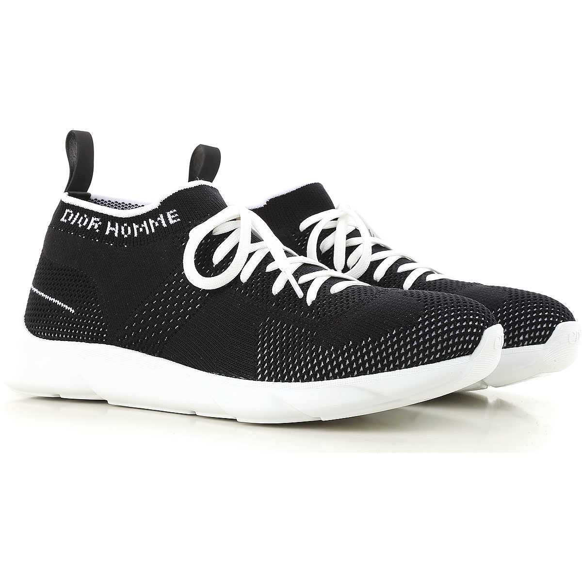 Christian Dior Sneakers for Men On Sale Black - GOOFASH