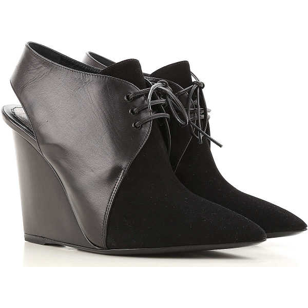 Christian Dior Wedges for Women On Sale in Outlet Black - GOOFASH