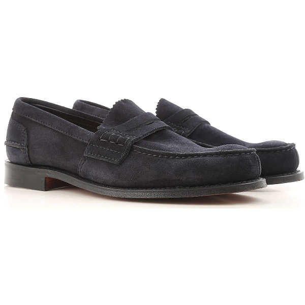 Church's Loafers for Men On Sale Midnight Blue - GOOFASH