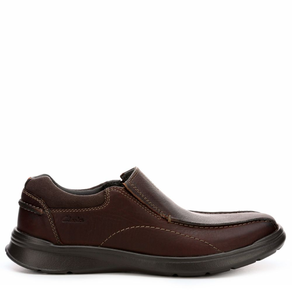 Clarks Mens Cotrell Step Casual Loafer Loafers Brown USA - GOOFASH - Mens LOAFERS