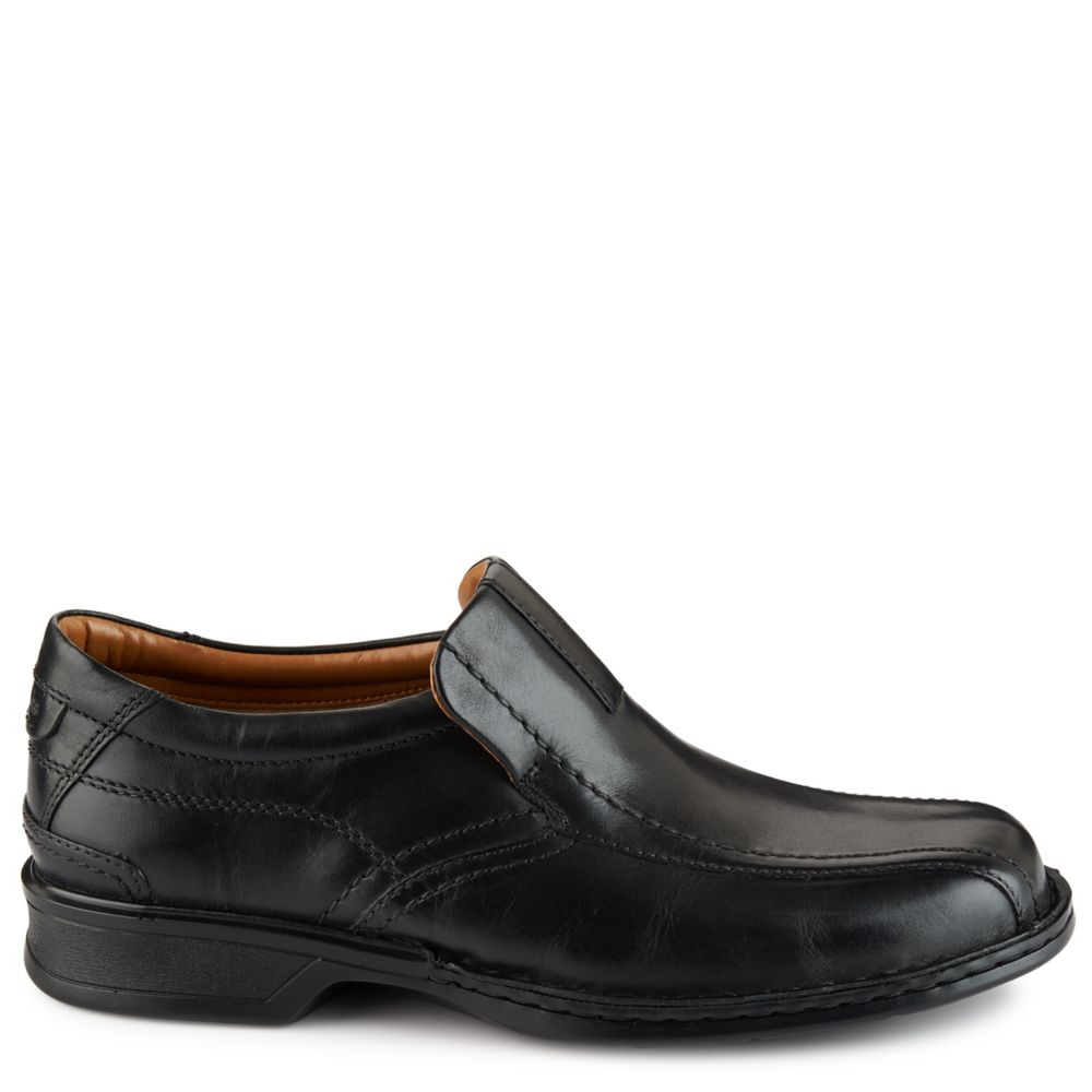 Clarks Mens Escalade Step Casual Loafer Loafers Black USA - GOOFASH - Mens LOAFERS