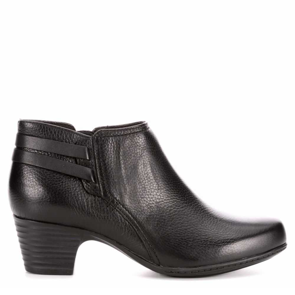 Clarks Womens Valerie 2 Ashly Black USA - GOOFASH -