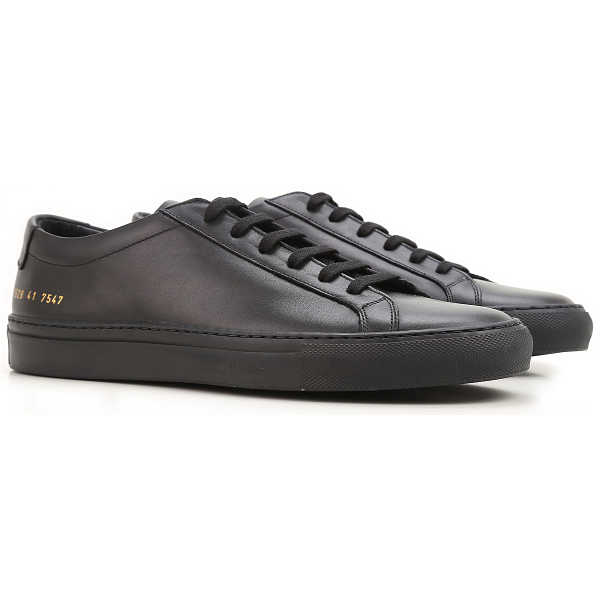 Common Projects Sneakers for Men Black UK - GOOFASH