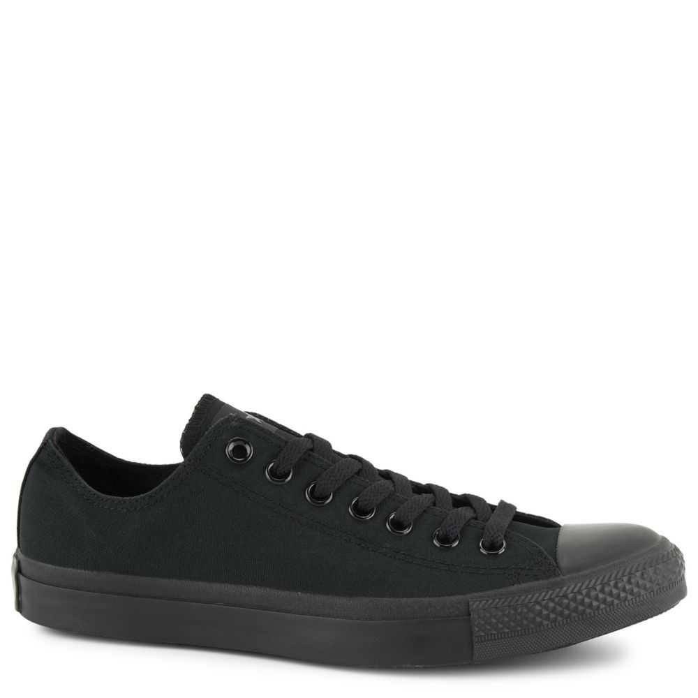Converse Mens Chuck Taylor All-Star Low-Top Shoes Sneakers Black USA - GOOFASH - Mens SNEAKER