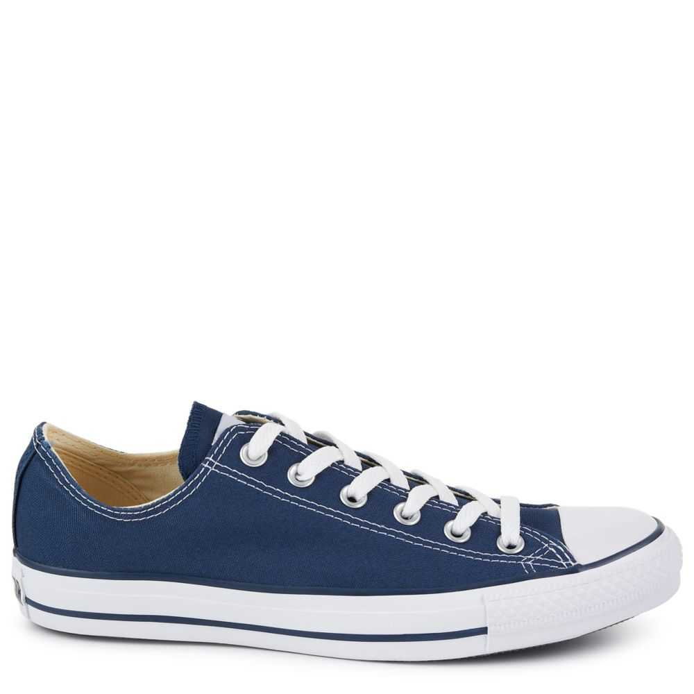 Converse Womens Chuck Taylor All-Star Low-Top Shoes Sneakers Navy USA - GOOFASH - Womens SNEAKER