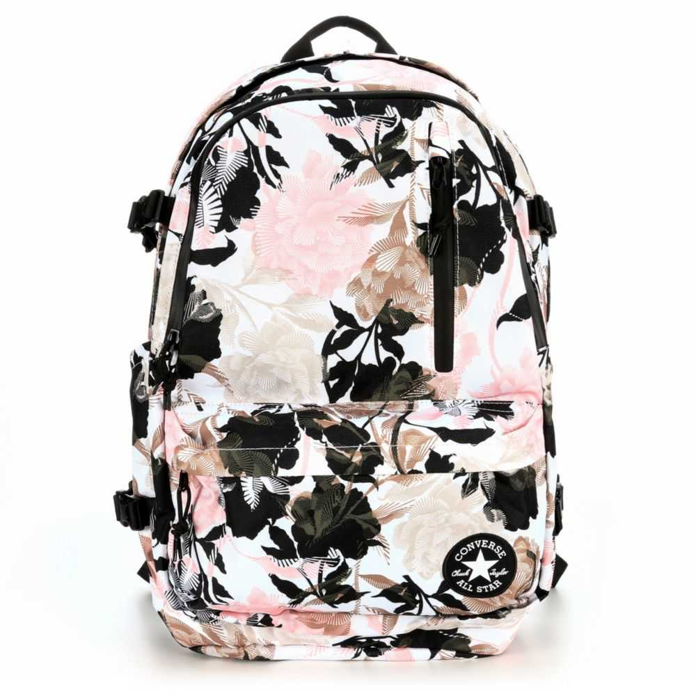 Converse Womens Go Backpack White USA - GOOFASH - Womens WALLETS