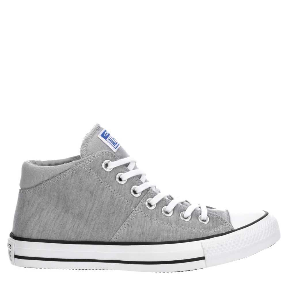 Converse Womens Madison Mid Shoes Sneakers Grey USA - GOOFASH - Womens SNEAKER