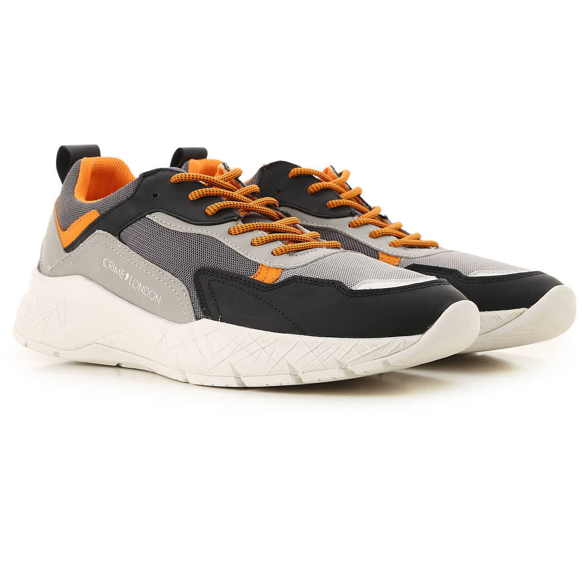 Crime Sneakers for Men On Sale Grey - GOOFASH
