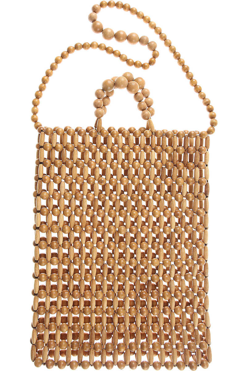 Cult Gaia Tote Bag On Sale in Outlet Wood - GOOFASH