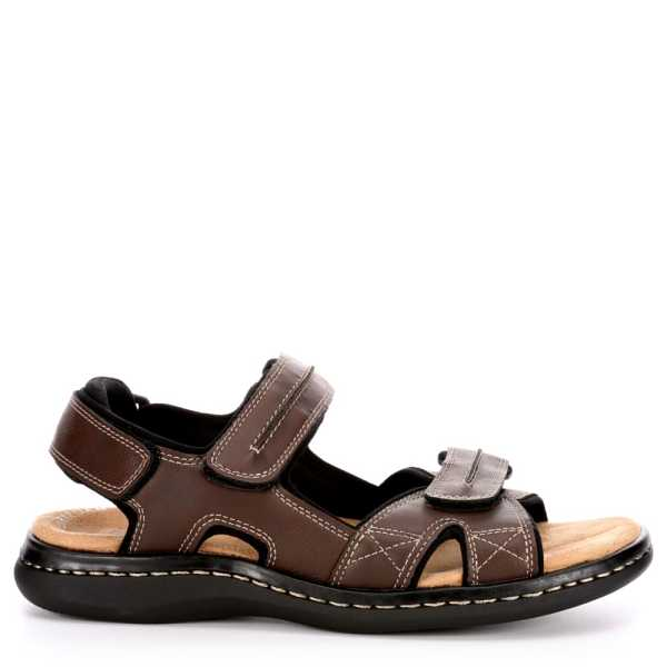 Dockers Mens Newpage Fisherman Sandal Brown USA - GOOFASH - Mens SANDALS