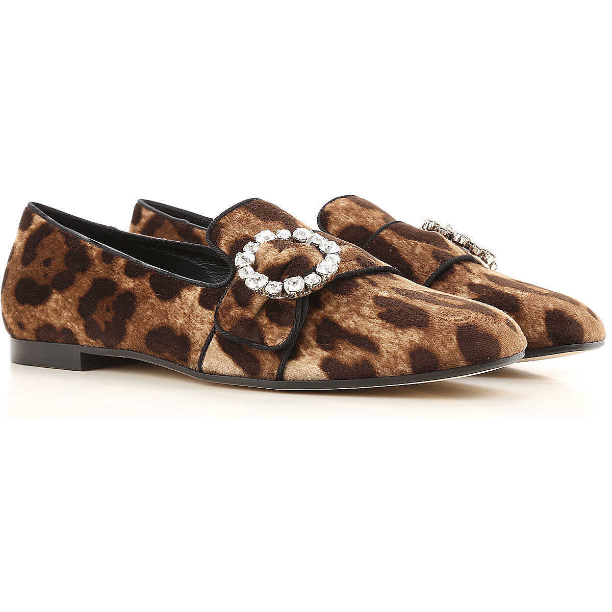 Dolce & Gabbana Ballet Flats Ballerina Shoes for Women On Sale in Outlet Leopard - GOOFASH