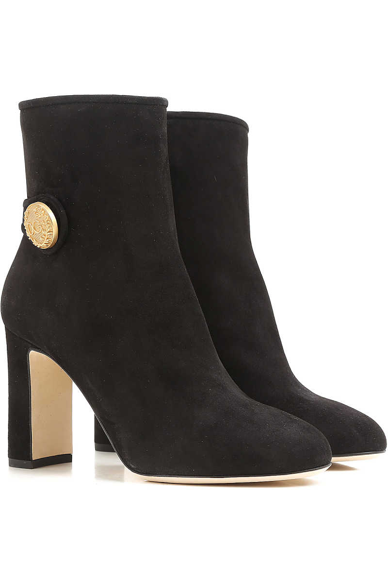 Dolce & Gabbana Boots for Women 5.5 7.5 Booties On Sale in Outlet UK - GOOFASH