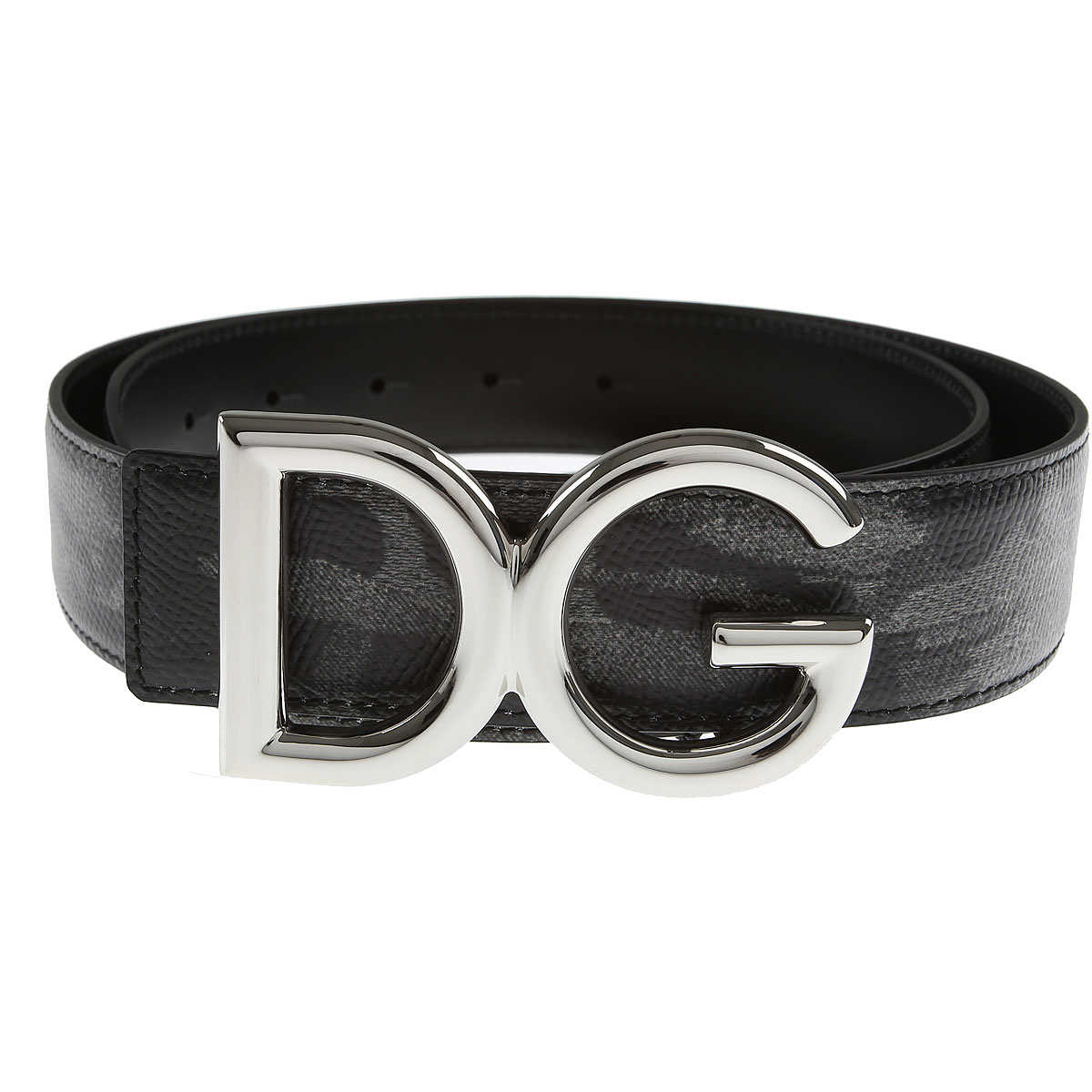 Dolce & Gabbana Mens Belts On Sale Camouflage Grey - GOOFASH
