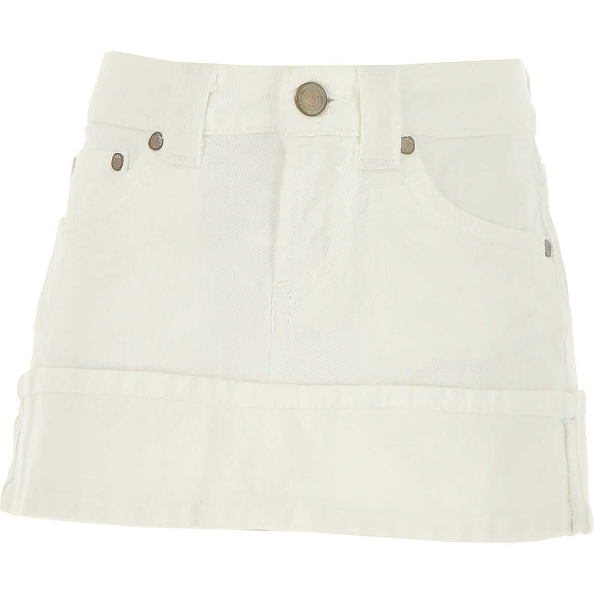 Dondup Kids Skirts for Girls in Outlet White USA - GOOFASH