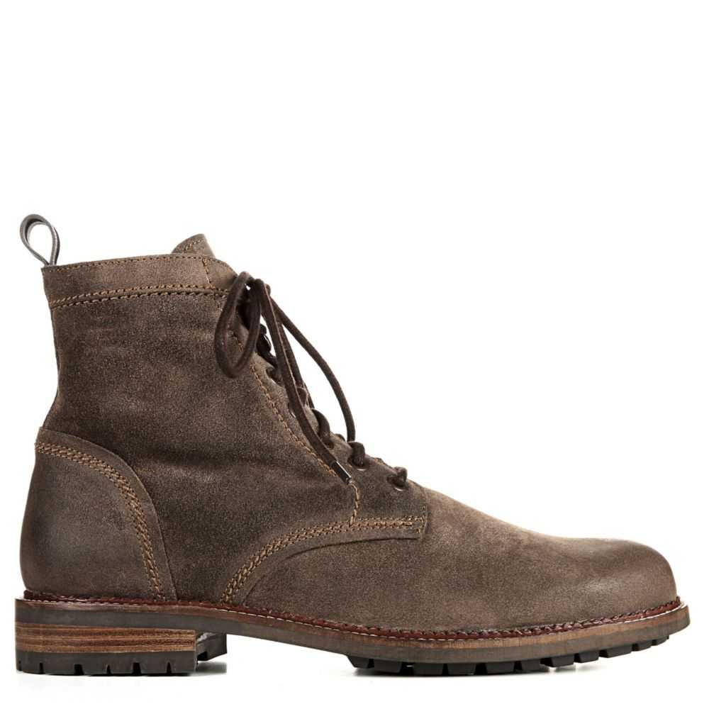 Dr. Scholl's Mens Cavalry Boots Olive USA - GOOFASH - Mens BOOTS