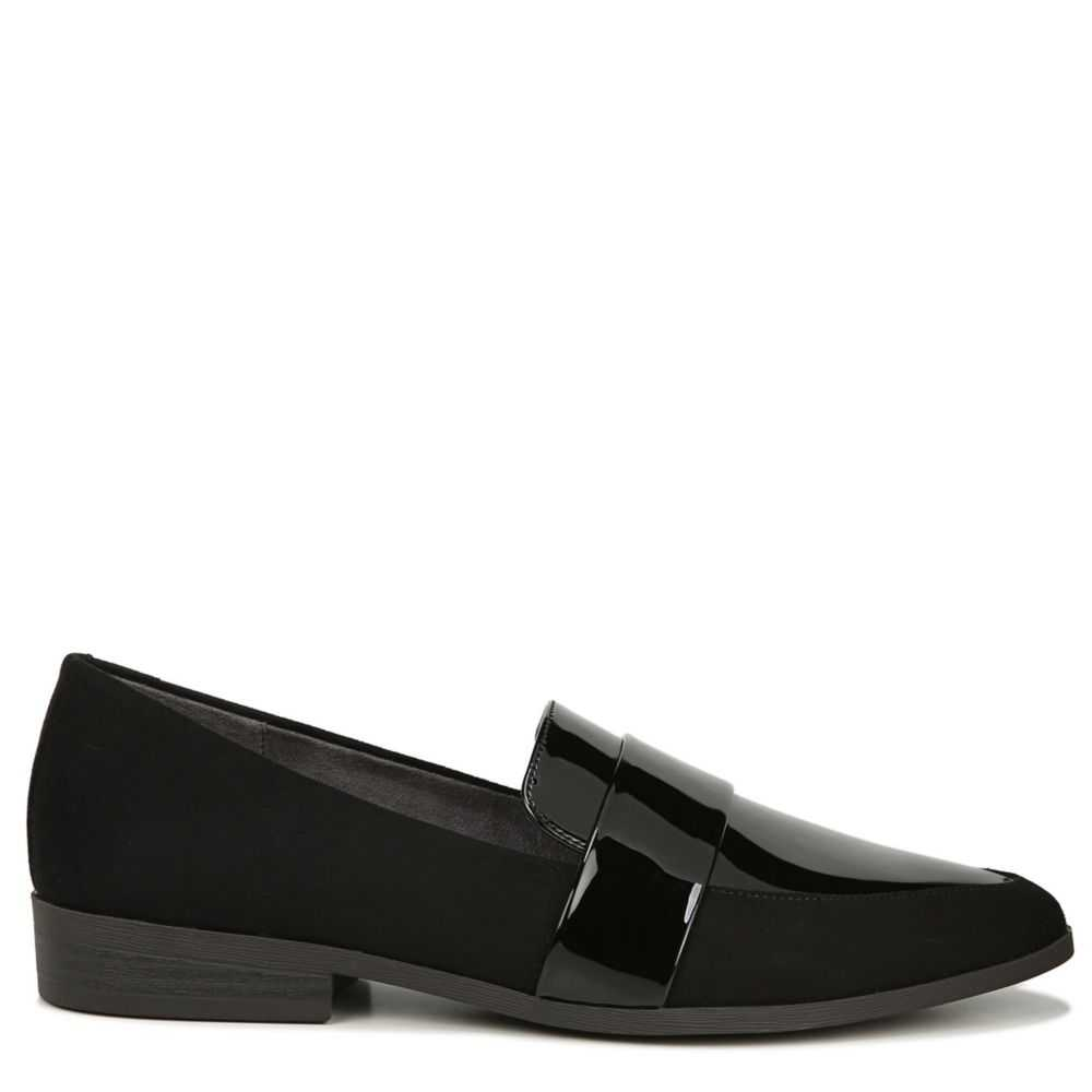 Dr. Scholl's Womens Agnes Loafers Black USA - GOOFASH - Womens FLAT SHOES