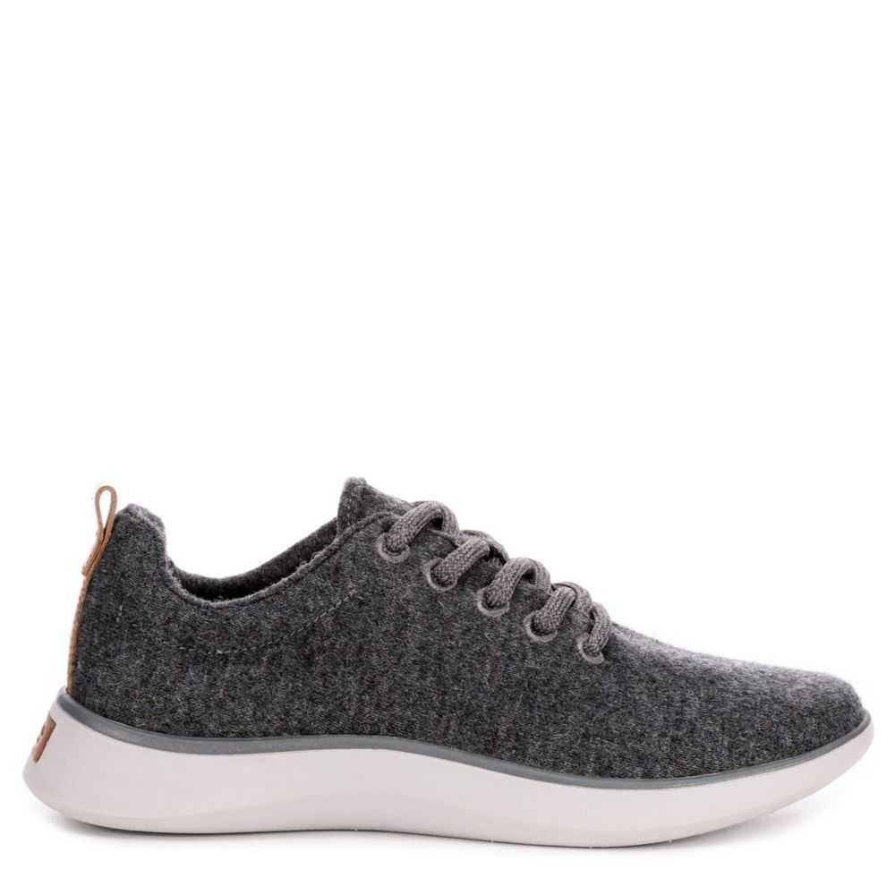 Dr. Scholl's Womens Freestep Shoes Sneakers Dark Grey USA - GOOFASH - Womens SNEAKER